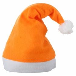 Caciulita Mos Craciun portocalie