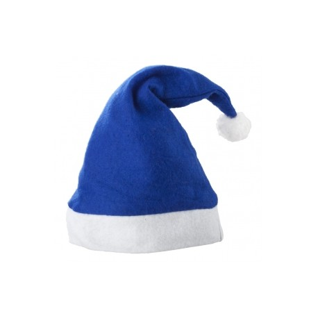 Caciulita Mos Craciun albastra