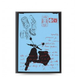 Agenda nedatata, Letts of London Retro Moped