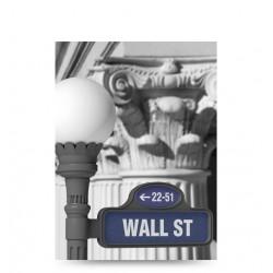 Agenda nedatata, Letts of London Vintage Snap Wall Street