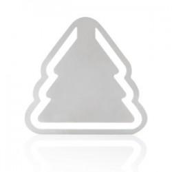 semn de carte metalic in forma de bradut