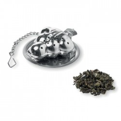Infuzor ceai metalic, in forma de brad