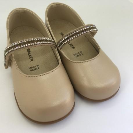 Pantofi cu cristale BABYWALKER