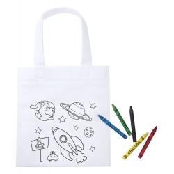 Sacosa de colorat pentru copii, Mosby