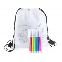 Rucsacel de colorat pentru copii, Backys