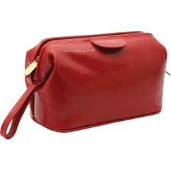 Poseta, geanta cosmetice piele Classic