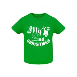 Tricou copil My 2nd Christmas