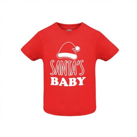 Tricou copil Santa's Baby
