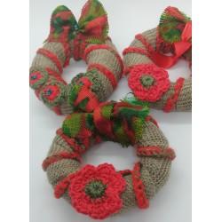 Decoratiuni brad handmade Tricot