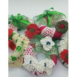 Decoratiuni brad handmade Danteluta