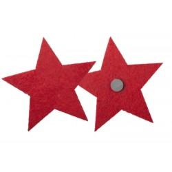 Magnet de frigider Nelo, in forma de stea